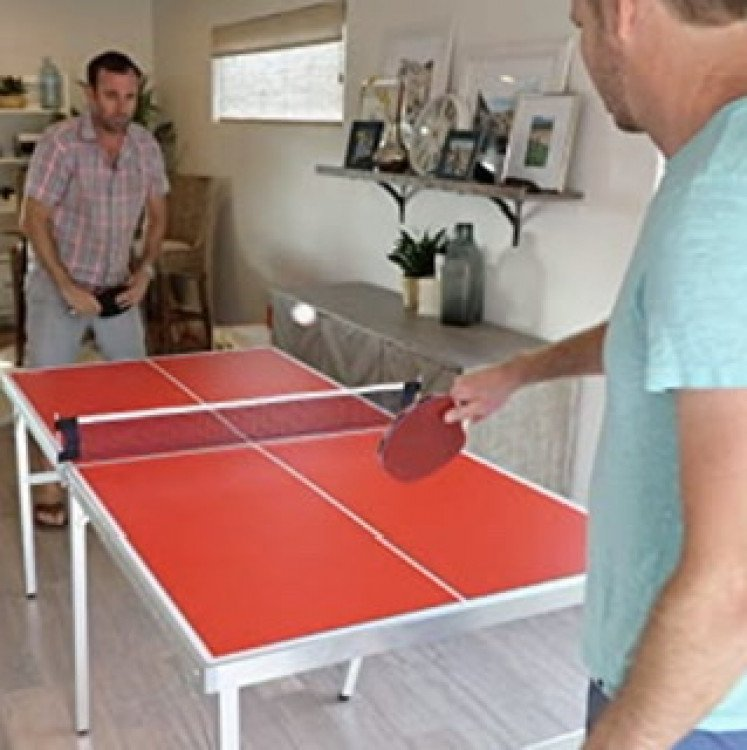 Mid-size ping pong table